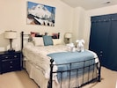 Main Master Bedroom with Queen size bed