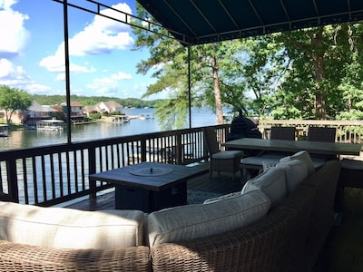 View from the deck looking Northeast