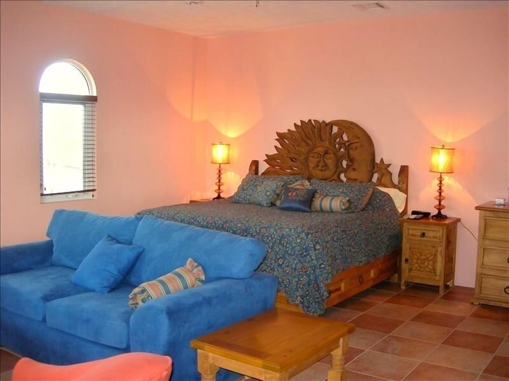 Upstairs master with king bed, ocean views, private bath and walk-in shower