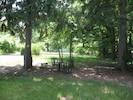 Shaded front yard