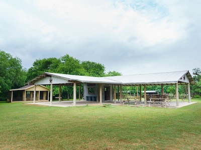 Wide View of Pavilion