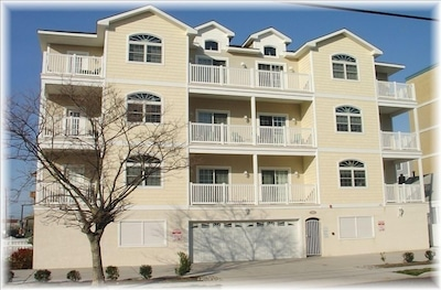 BELLA GRACE--unit is above garage with large balcony