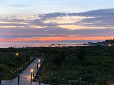 Nightly sunset from the deck