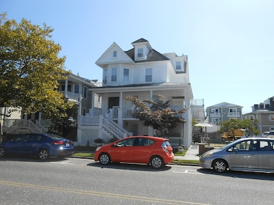 Front View 1137 Central Avenue, Oceanside, 2nd house from 12th & Central corner