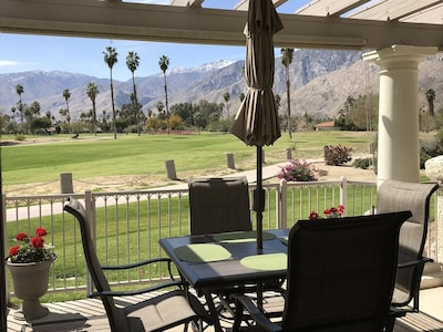 Fantastic view from the patio!
