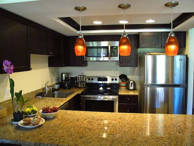View of Fully Equipped Kitchen