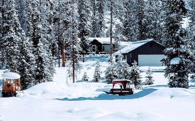 Winter at The Yankee Fork Cabin!