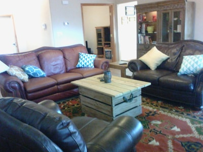 Plenty of room to entertain family and friends.