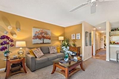 Maui Kamaole B114 Living room