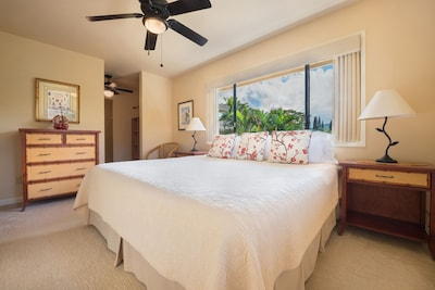 Master Bedroom with King Bed & Walk-in Closet