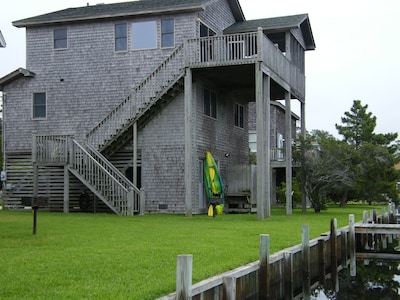 Cape S Cape with Kayak and Outside Hot/Cold Shower Bulkhead and Pier