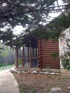 Cabin in the Woods - corner view
