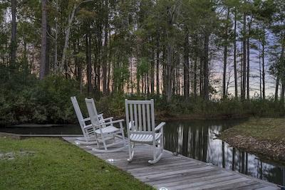 Old Santee Canal State Park, Moncks Corner, South Carolina, Verenigde Staten