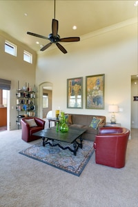 The large open layout is perfect for entertaining friends and family