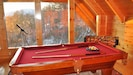 Game Room: Majestic Views, Pool Table, Foos ball, Video Game