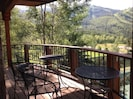 Majestic mountain views off the balconies and decks