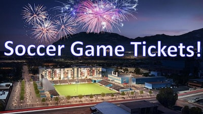 Home Games tickets to Colorado Springs FC USL included - 8 tickets.