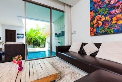 Chocolate Beach Front Pool Villa