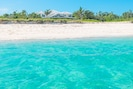Beautiful sandy beach and good snorkeling