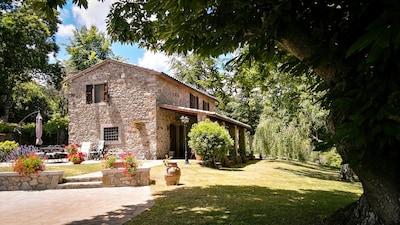 Museo delle Miniere di Mercurio del Monte Amiata, Santa Fiora, Toskana, Italien