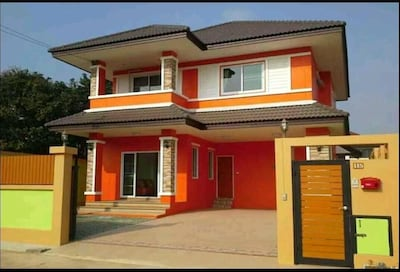 OrangeVilla4BedRoom 5min to Nimman