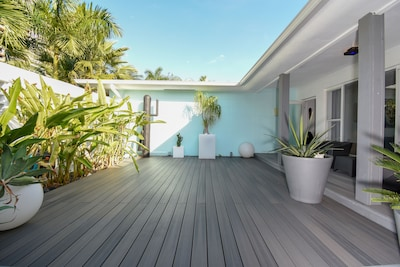 Entrance, 1st terrace