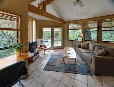 Forest Retreat living room