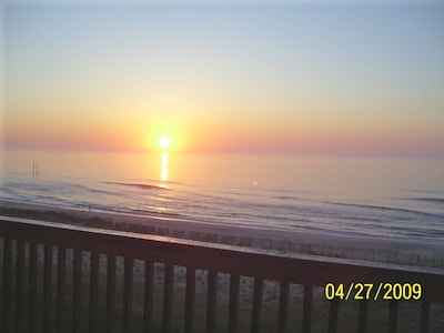 Sunrise from Penthouse deck