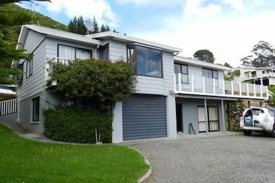 Waikawa — zatoka, Picton, Marlborough, Nowa Zelandia