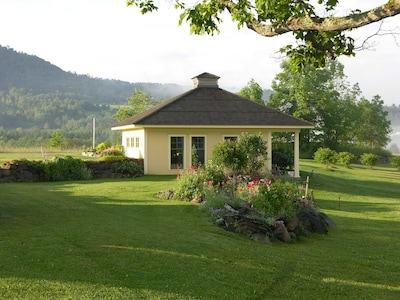 Our little perfect square cottage