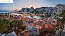 Historic medieval town of Omis and its centre are only 1 km away/15 min walk