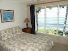 Master Bedroom, Upstairs, CA King Size Bed, Overlooks Ocean!