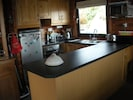 Fully-fitted galley kitchen