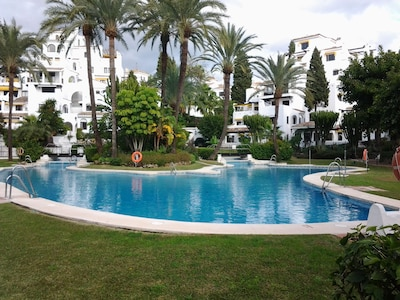 Luxury Puerto Banus Apartment situated in Tropical Gardens