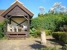 Top terrace with tea pavilion