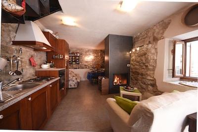 Centre de visite de la Vallée dell'Orfento, Caramanico Terme, Abruzzes, Italie