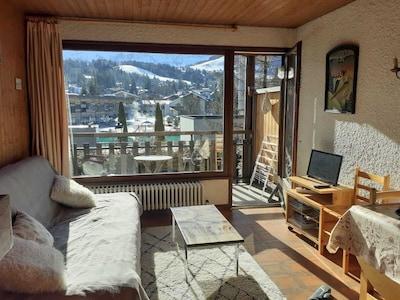 Chamois Gondola, Megeve, Haute-Savoie, France