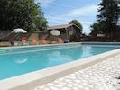 piscine entièrement sécurisée 6m sur 12m