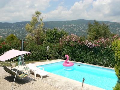 au retour de la plage ou de vos activités, la piscine vous attend !