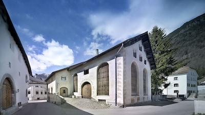 Bever, Graubuenden, Switzerland