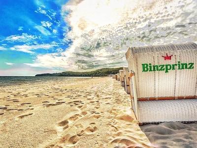 Ostsee statt Karibik: Strandkorb inklusive von Mai bis Oktober