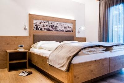 Station de ski de Ciampino-Sella, Selva di Val Gardena, Trentin-Haut-Adige, Italie