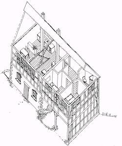 Schematische 3D- Skizze