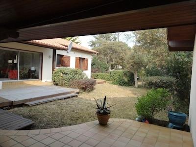 2 terrasses extérieures