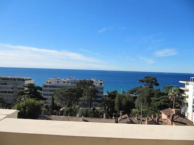 Une partie de la vue depuis l'appartement