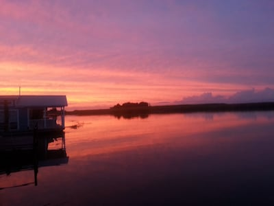The end to another wonderful day in Apalachicola