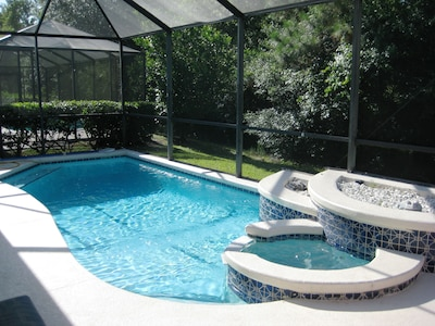 Gorgeous South Facing Pool - bathed in sunshine.
