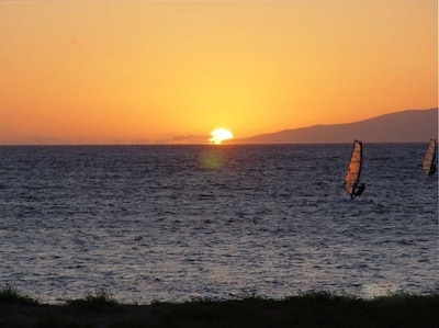 Zoomed Sunset view from the Lani