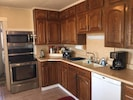 Kitchen - Stove with microwave, dishwasher,  refrigerator
