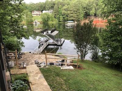 All new 2 level dock for the 2020 season.